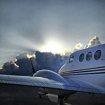 Preflight Sunrise by Gretchen Friedrich