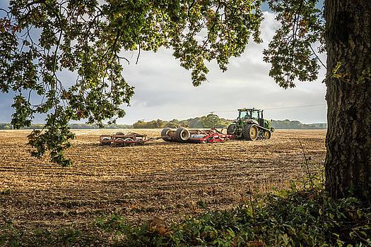 Preparing the land by Jeremy Sage