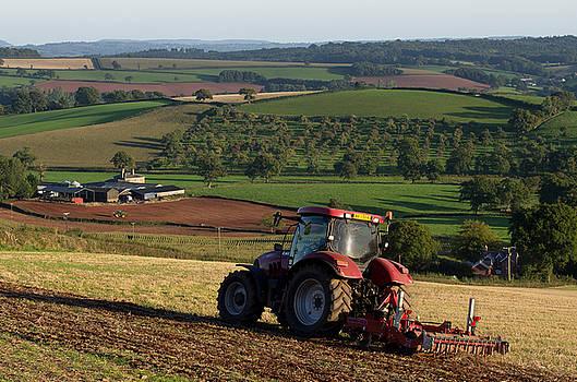 Preparing the land by Pete Hemington