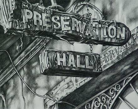 Preservation Hall by Michael Lee Summers