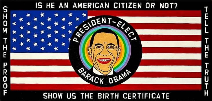 President-Elect Barack Obama by MaryAnn Kikerpill