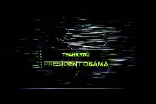 President Obama by Spencer McDonald
