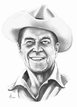 President Ronald Regan by Murphy Elliott