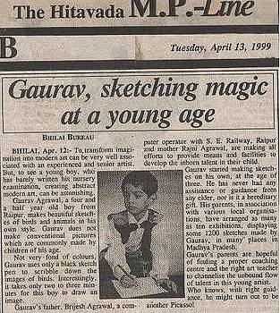 Press-coverage by Gaurav Agrawal