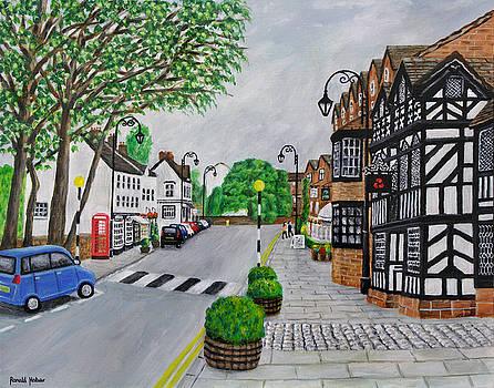 Prestbury Village - Cheshire by Ronald Haber