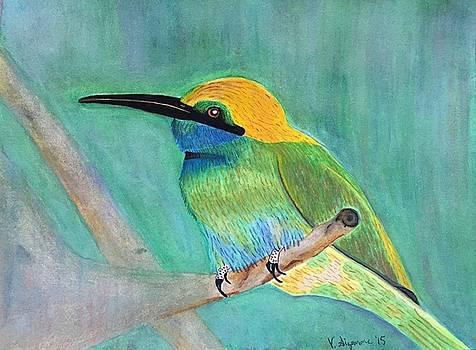 Pretty Bird by Vickie Sizemore