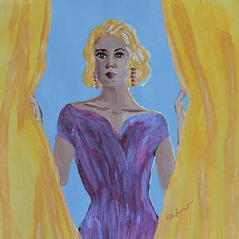 Kate Farrant - Pretty in Purple