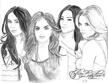 Pretty little liars by Kristina Mladenova