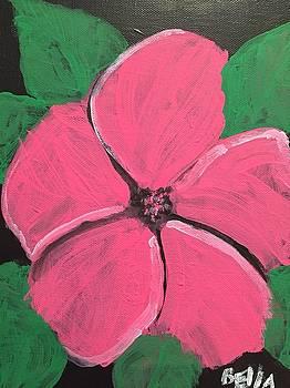 Pretty Pink Flower  by Bella Trujillo
