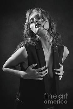 Pretty Sensual Woman by Aleksey Tugolukov