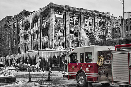 Pride, Commitment, and Service -After the Fire by Jeff Swanson