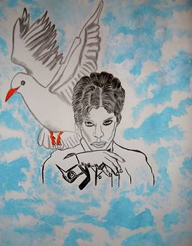 Prince and his White Dove by Nicole Burrell