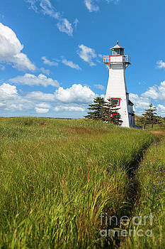 Prince Edward Island Lighthouse by Verena Matthew