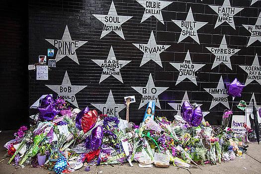 Prince Memorial First Avenue Minneapolis 1 by Wayne Moran