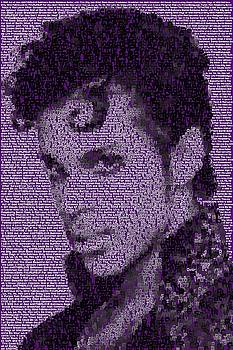 Prince Songs Mosaic by Paul Van Scott