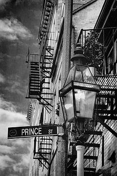 Prince Street Vertical - Boston - North End by Joann Vitali