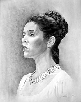 Princess Leia by Daniel Bergren