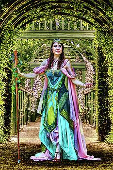 Princess of the Vineyard by John Haldane