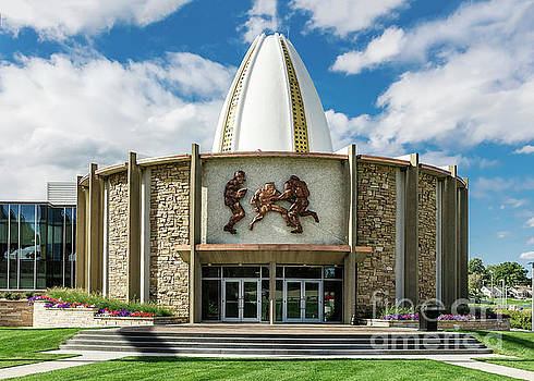 Pro Football Hall of Fame by John Greim