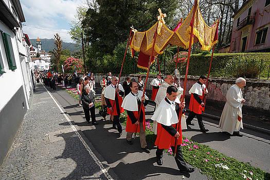 Gaspar Avila - Procession in Azores islands