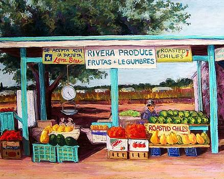 Produce Stand by Candy Mayer