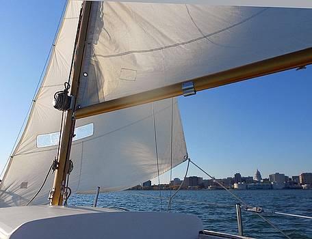 Sailing in Madison by Deborah Cummins