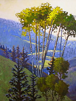 Proud Aspen by Susan McCullough