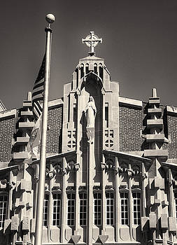 Providence College Harkins Detail Monochrome by Nancy de Flon