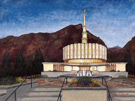Jeff Brimley - Provo Temple
