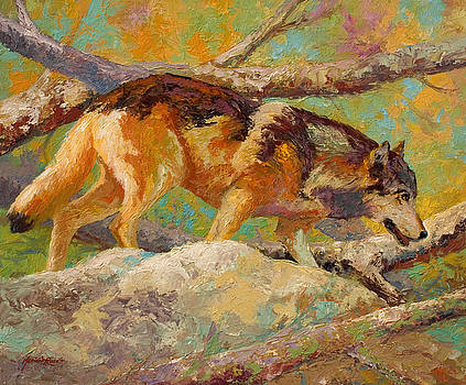 Marion Rose - Prowler - Grey Wolf