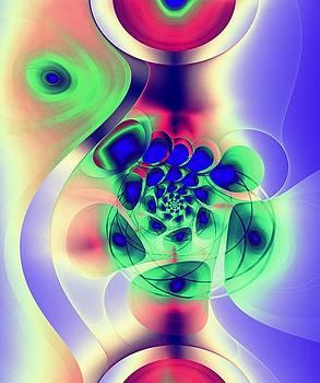 Psychedelic Peacock by Anastasiya Malakhova