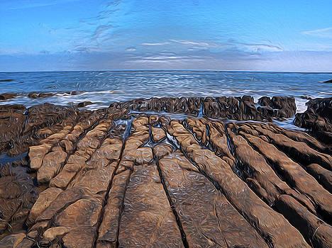 Pt Fermin Pacific Ocean Dreams. San Pedro, California.  by Joe Schofield