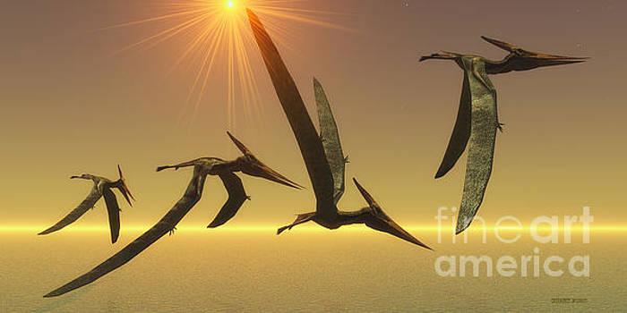 Corey Ford - Pteranodon Reptile Flight