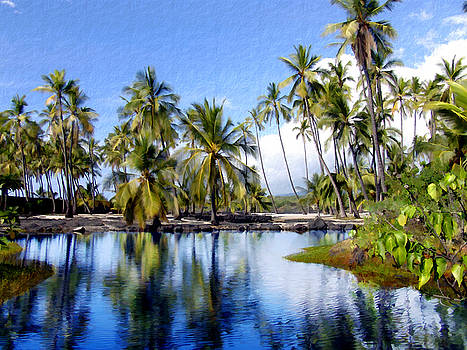 Kurt Van Wagner - Pu uhonua O Honaunau pond