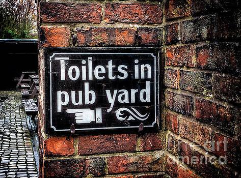 Adrian Evans - Pub Sign