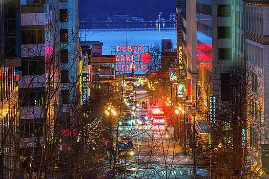 Public Market Center - Seattle by Hisao Mogi