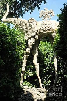 Gregory Dyer - Pubol Spain Gala Castle Garden
