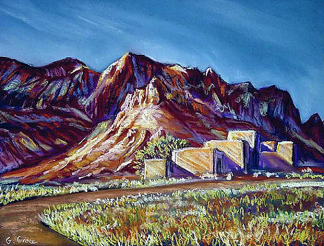 Pueblo's Butte by George Grace