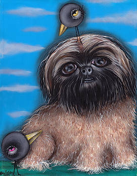 Abril Andrade Griffith - puffy dog