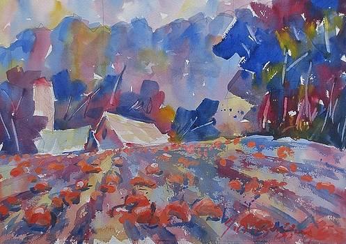 Pumpkin Farm by JULES Buffington