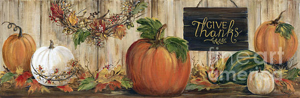 Pumpkin Panel by Marilyn Dunlap