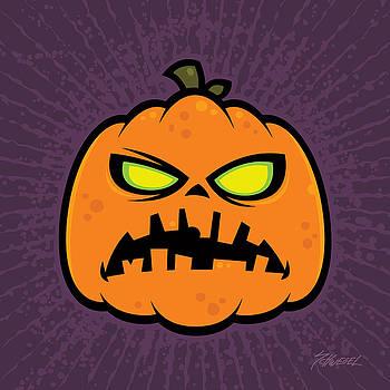 Pumpkin Zombie by John Schwegel