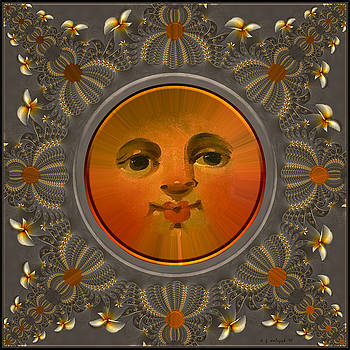 Punched Tin Sun by Daniel G Walczyk