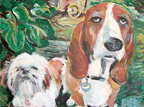 Jon Baldwin  Art - Puppy Dogs