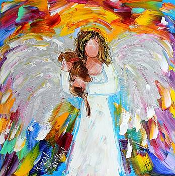 Karen tarlton artwork for sale san diego ca united for Angel paintings for sale