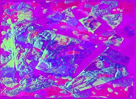 Purple Blur Landscape by Alexandra Masson