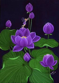 Purple by Desiree Micaela