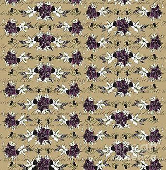 Purple Floral by Noelle Rollins