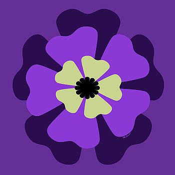 Kate Farrant - Purple Flower Pattern