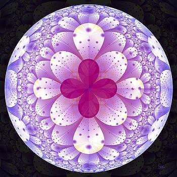 Purple Flower World by Lori Grimmett